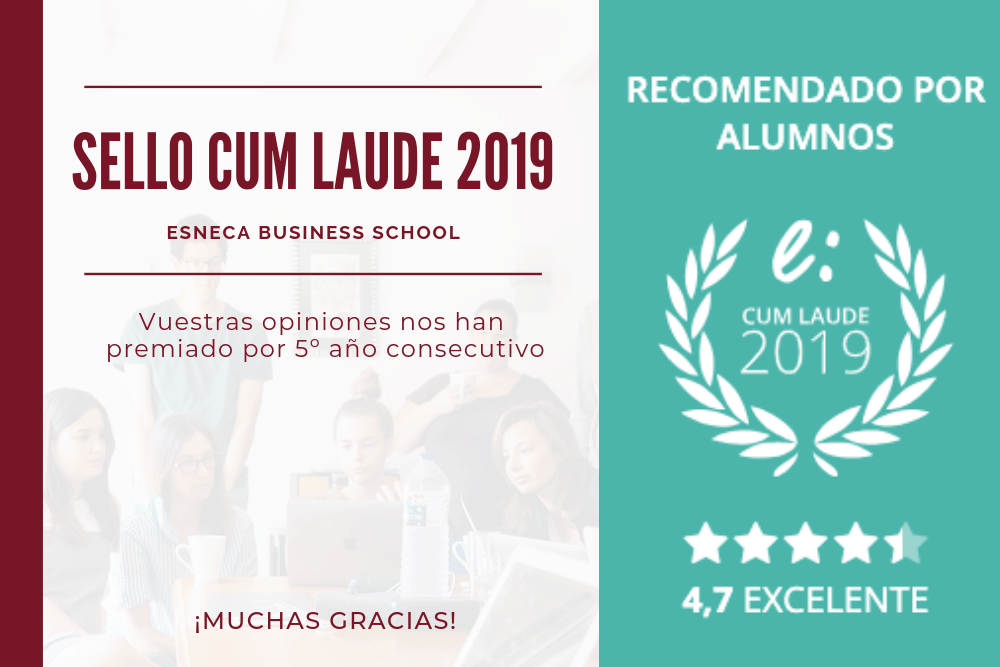 Esneca recibe su quinto Sello Cum Laude 2019