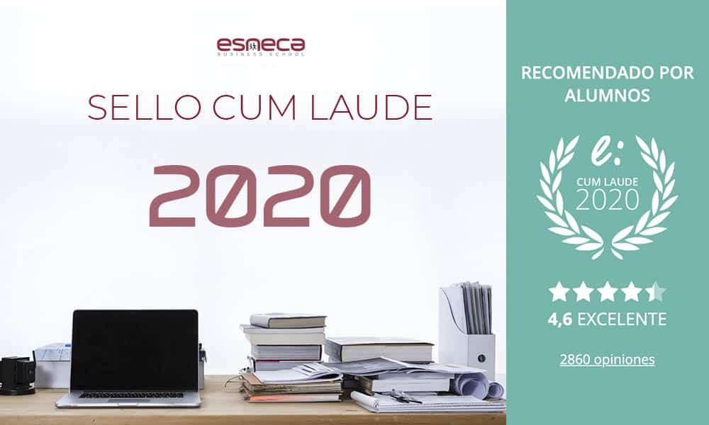 Esneca obtiene su sexto Sello Cum Laude 2020