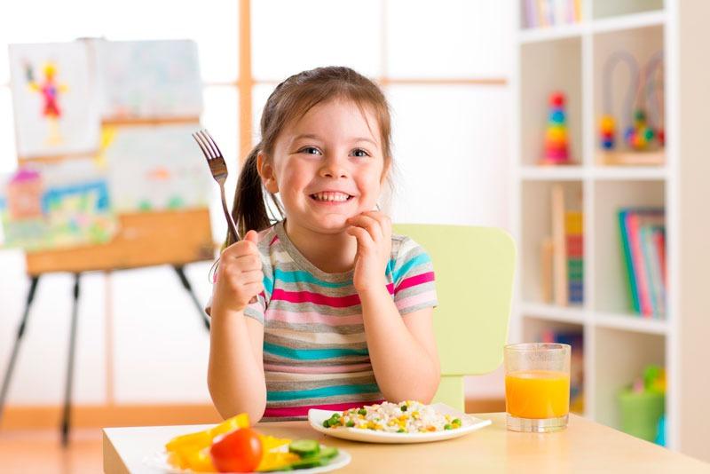 Correcta alimentación infantil, un beneficio para toda la vida