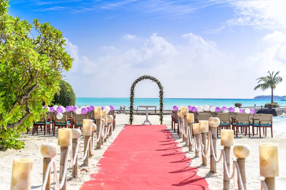Cómo organizar bodas en la playa