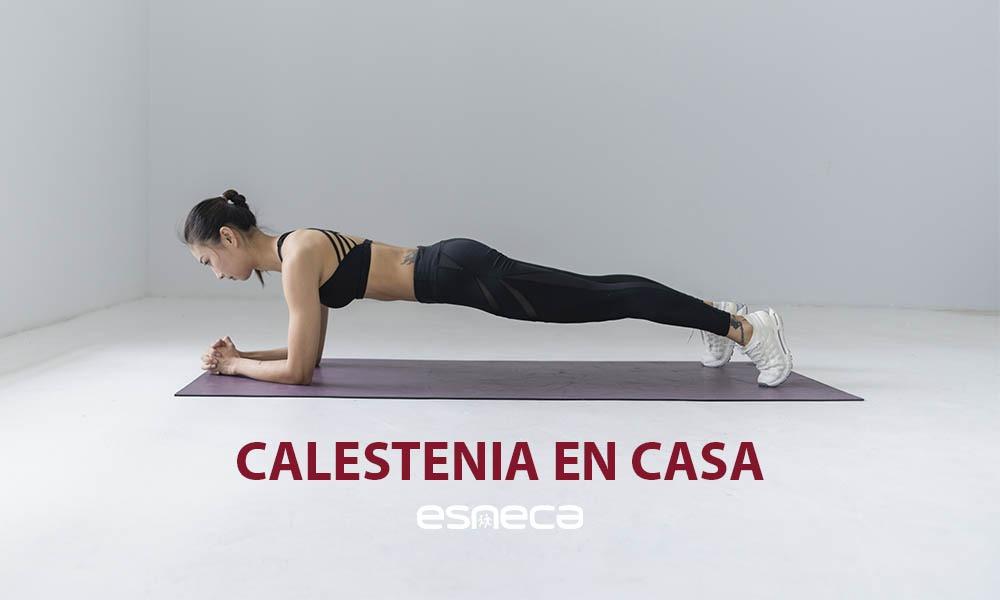Calistenia en casa: 5 ejercicios para entrenar sin salir