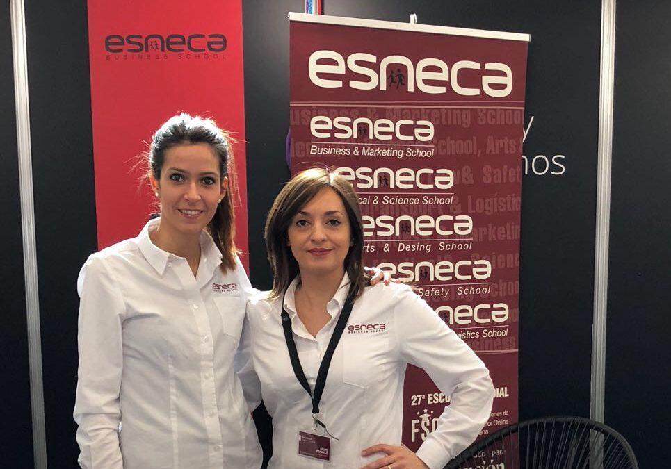 Esneca presenta su oferta formativa en Saló Futura