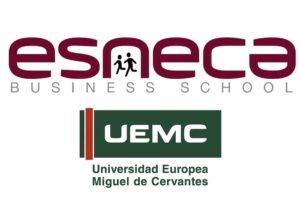 Titulación universitaria UEMC y Diploma Esneca Business School