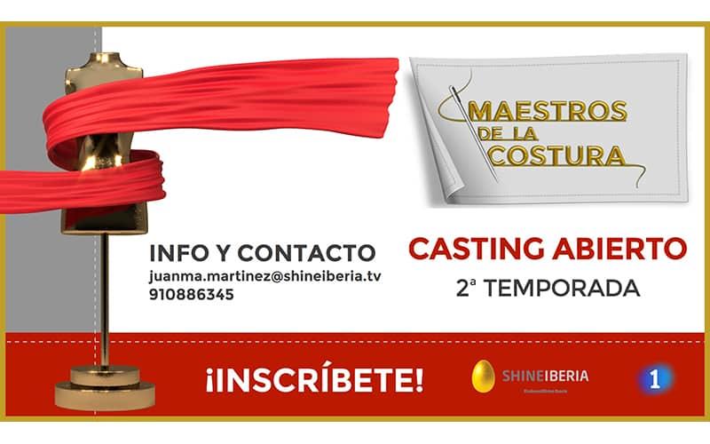 Casting nueva edición Maestros de la Costura