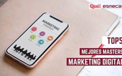 Esneca en el TOP5 de los mejores másters en marketing digital según el Diario Qué!