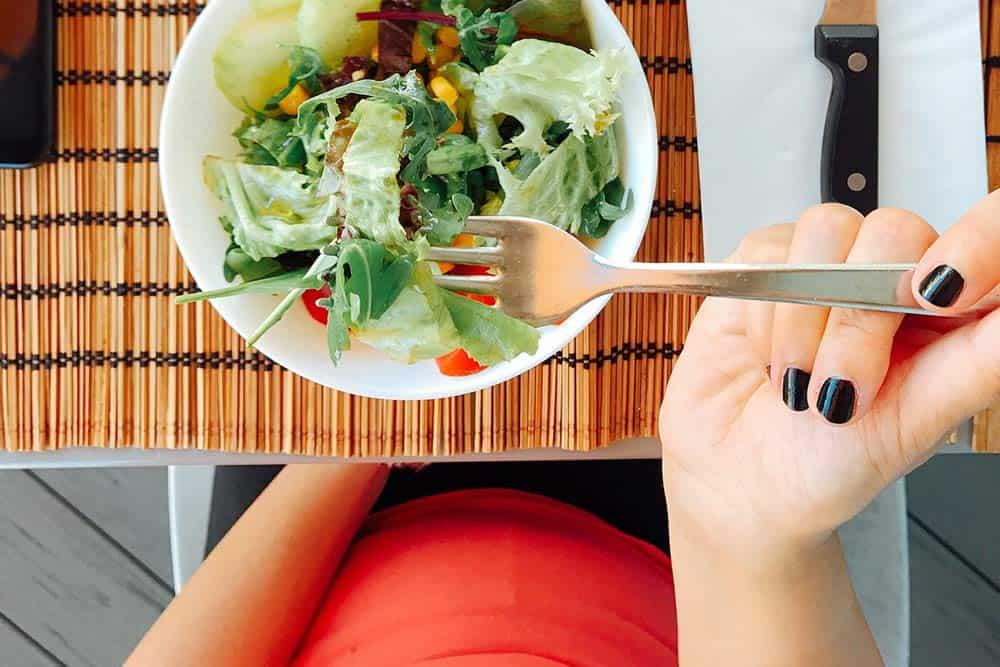Nutrición y dietética, comer bien durante el embarazo