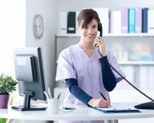 recepcionista en clinicas veterinarias