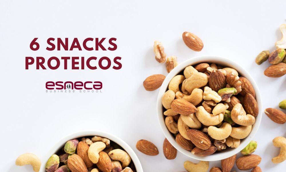 6 Snacks proteicos para picotear sanamente