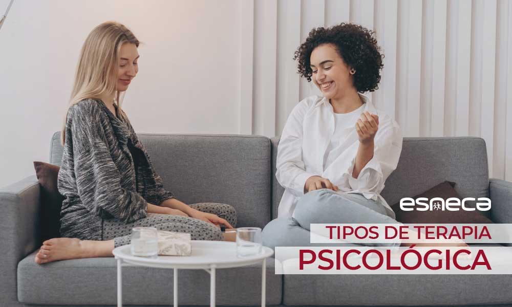 ¿Cuántos tipos de terapia psicológica existen?