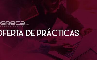 OFERTA PRÁCTICAS – ASISTENTE DE RECURSOS HUMANOS