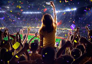 Estudiar curso en eventos deportivos